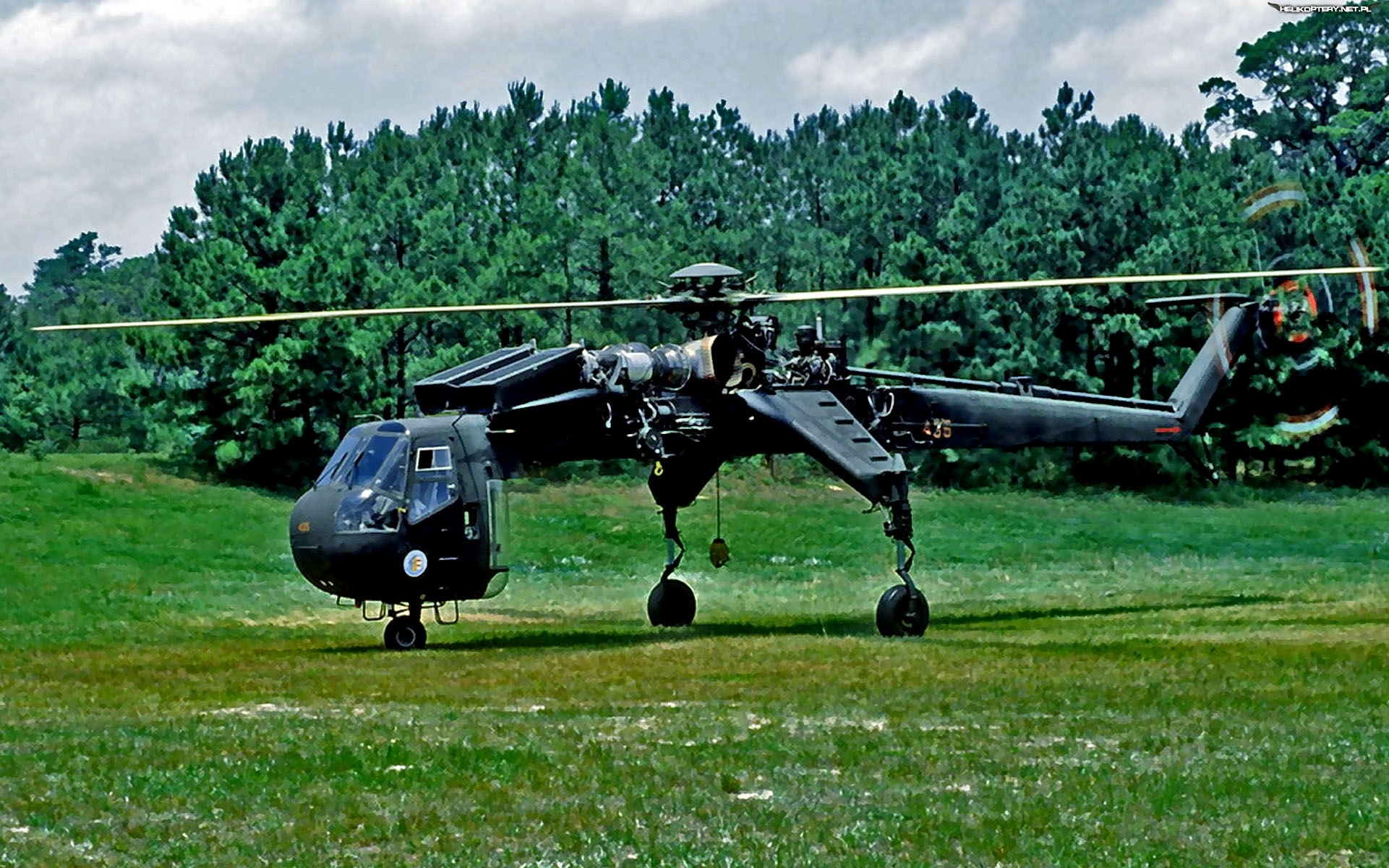 Sikorsky CH-54 Tarhe, Transportowy, Helikopter